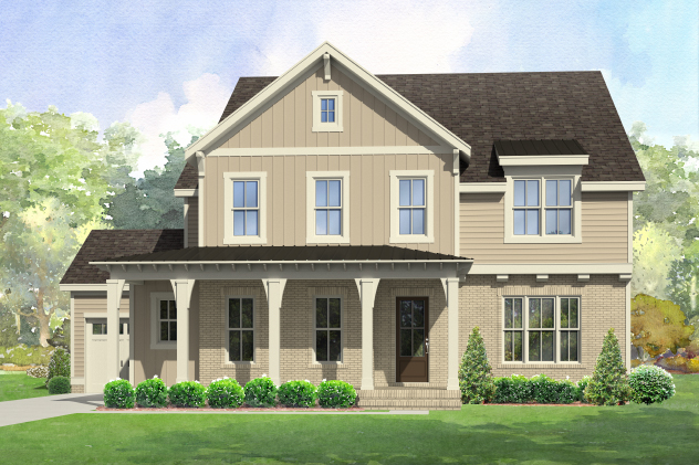 New Custom Home For Sale Rendering, StillWater Apex Lot 72
