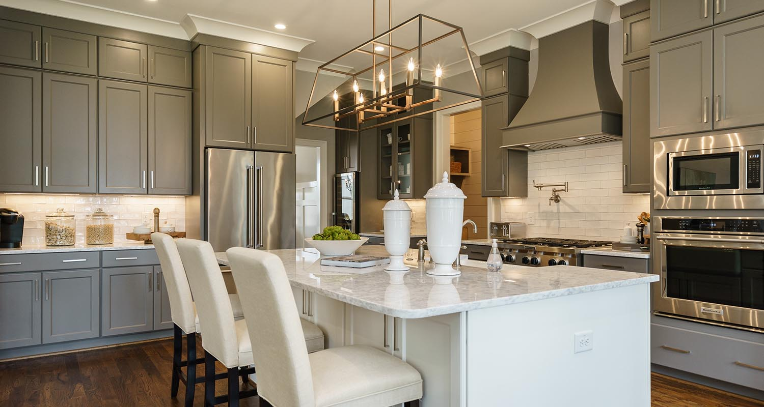 StillWater, Gourmet Kitchen - Model Home Tour, Lot 2 by Hayes Barton Homes