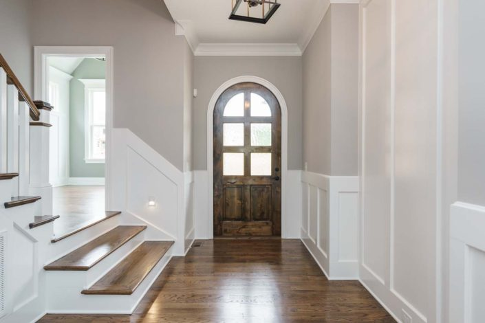 StillWater Apex, Lot 28 - Foyer with Arched Front Door (image 02), 1500x1000px, Gray Line Builders