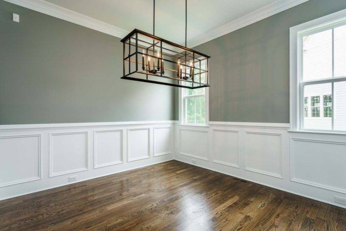 StillWater Apex, Lot 28 - Formal Dining Room (image 07), 1500x1000px, Gray Line Builders