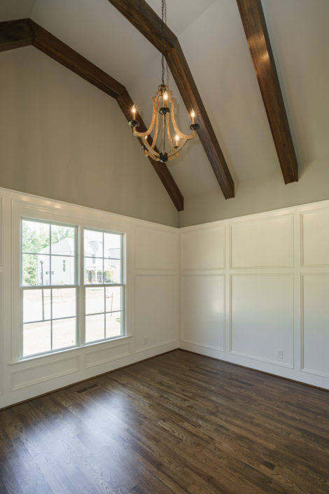 Stillwater Lot 12, Study with Custom Trim and Beamed Ceiling