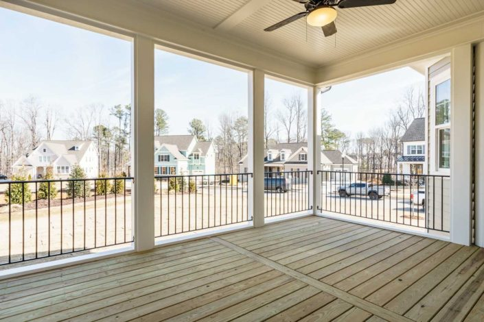 Stillwater Estates, Lot 45 -Screened Porch with Fireplace